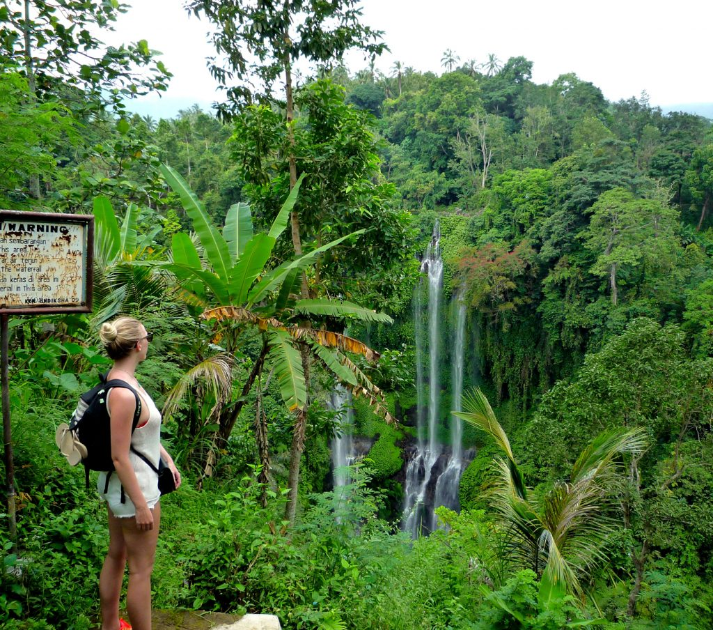Bali Reisblondie backpacken