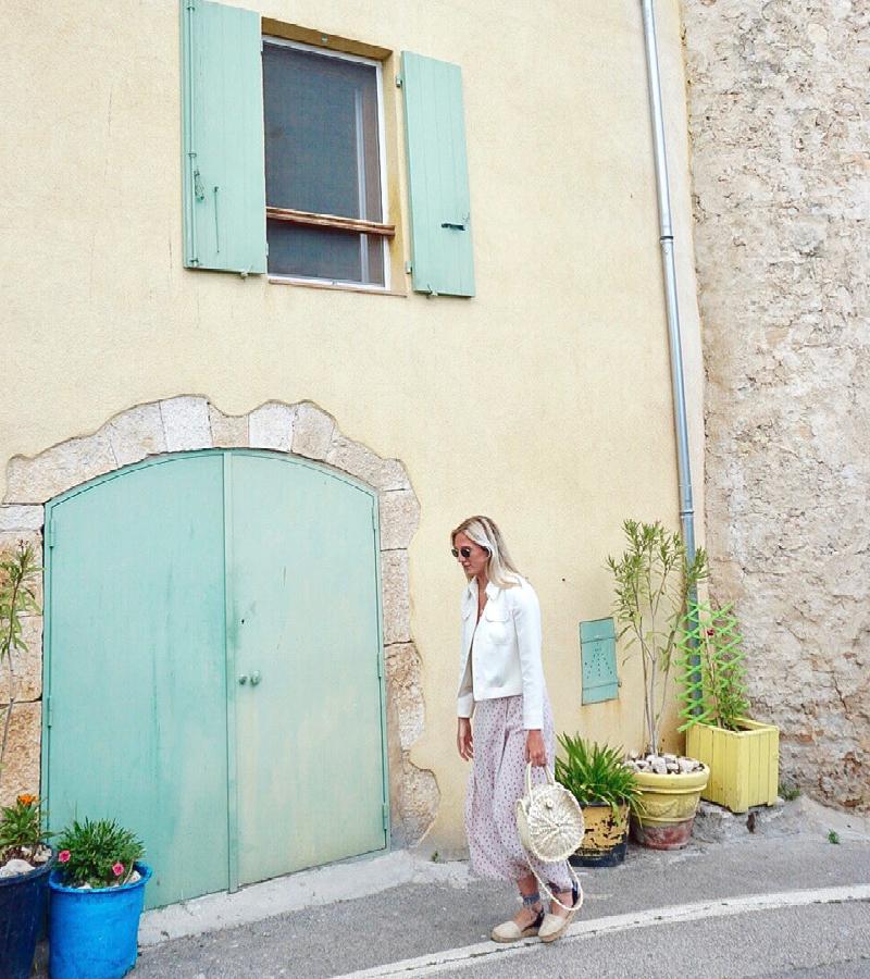 Reisblondie in de St Tropez