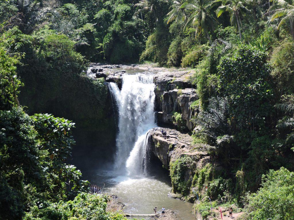 Ubud waterval Reisblondie