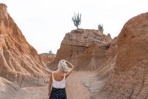 Reisblondie reizen Tatacoa woestijn 1
