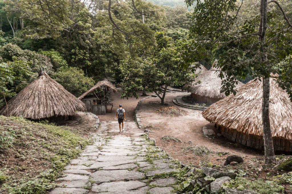 Reisblondie reizen Tayrona village