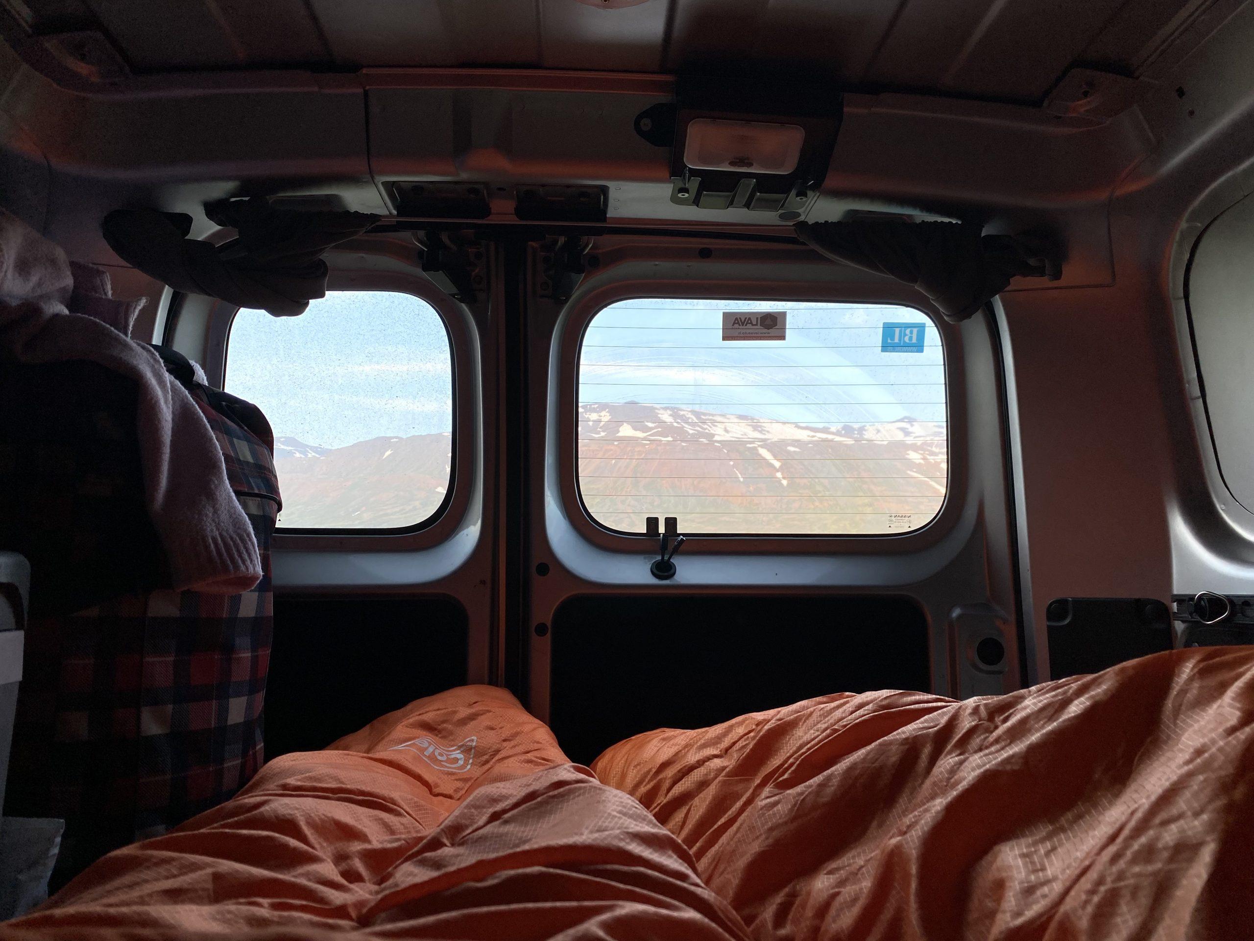 Campervan Iceland renting
