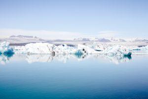 Iceland Summer Gletsjer Reisblondie