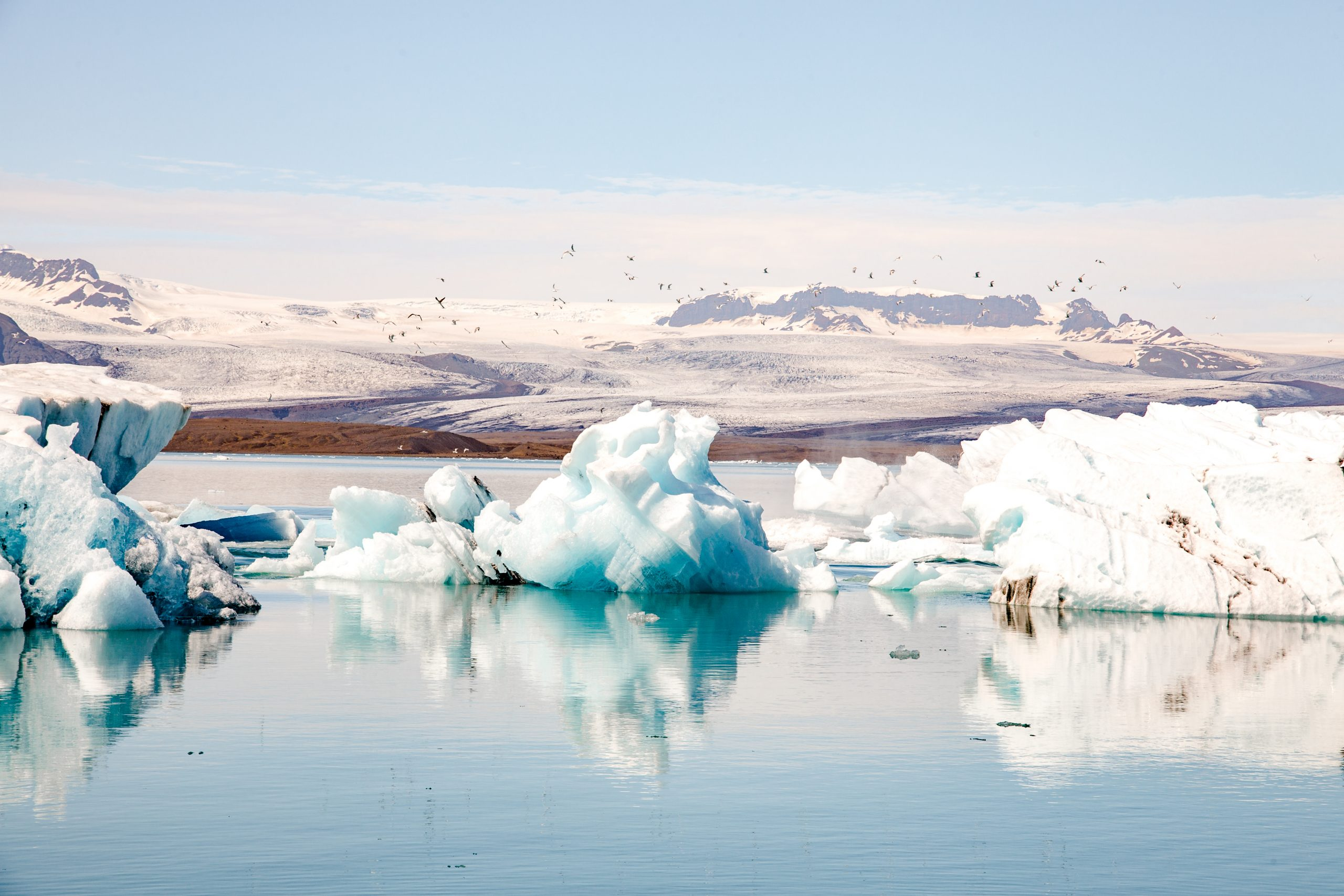 Iceland Reisblondie Gletsjer