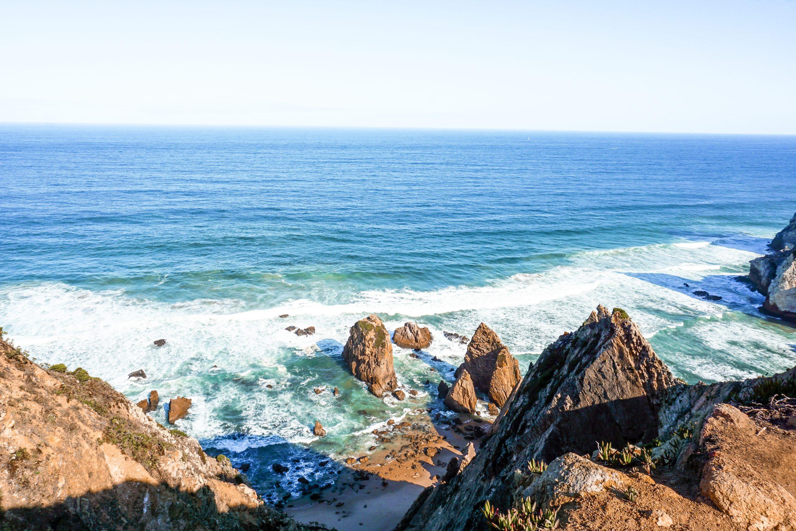Reisblondie Portugal Beach