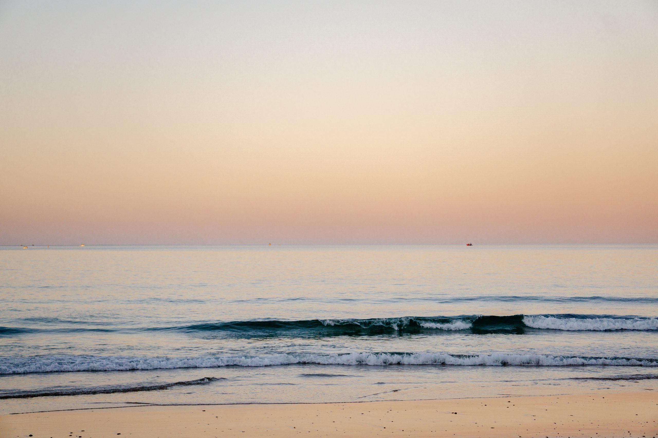 Sunset Portugal Beach Reisblondie