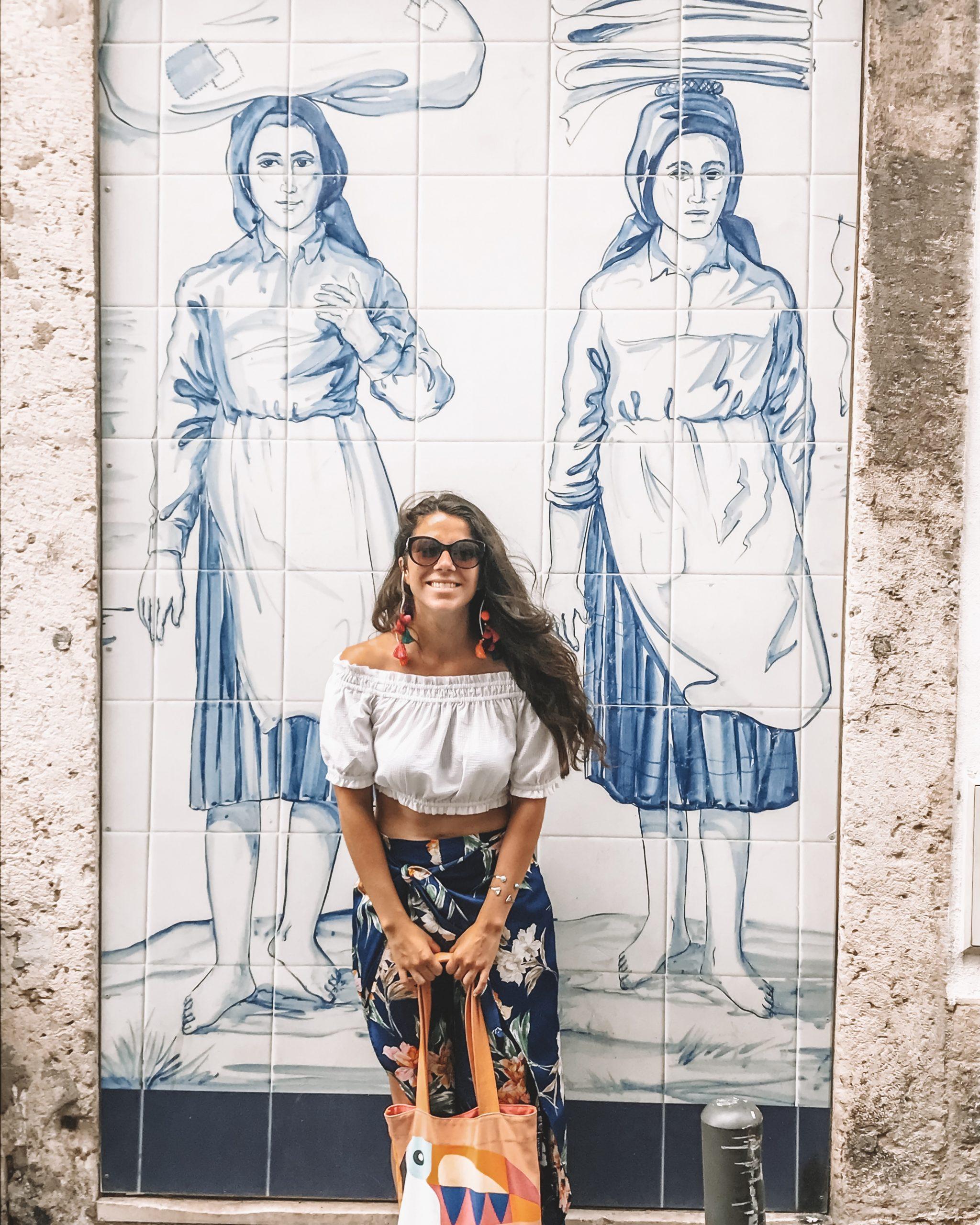 Alfama Lissabon Reisblondie Whenyoufinallygetthere